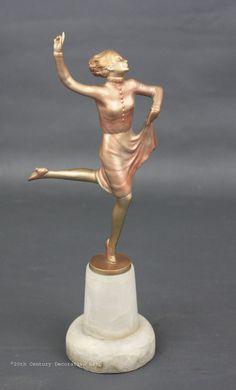 1930s Lorenzl bronze