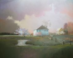 New Morning by Paul Stone 48x60 oil