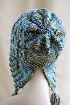 Balls to the Walls Knits: Iris Bloom Bonnet Hat