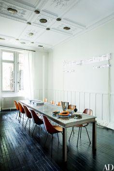 Italian Vogue Editor Franca Sozzani's Paris Townhouse Photos | Architectural Digest