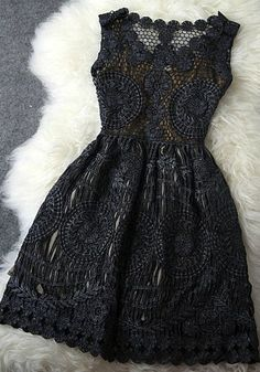 Love the lace, can be paired with a belt, bag or shoes for a colour pop.
