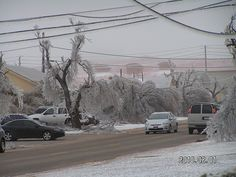 The Worst Ice Storm Ever | Lawton, Oklahoma Area - Ice Storm Nightmare. Oh, they didn't tell you we have ice storms? Wonderful weather here. Ice storms all winter, tornados in the spring, it's around 110 all summer, fall is kind of a blur and then we start over again with ice storms. Welcome! :)