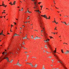 1 Ярдов 91*130 см, Красный Африканский Шнурок Ткани, Цветочные Вышитые Кожа Pu Свадебные Ткани, Ткани лоскутное Шитье Diy Ткани Tecido купить на AliExpress