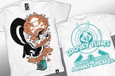 +150 T-Shirts de Johnny Cupcakes