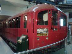 Mid Northern Line Undergound train. I remeber these with affection London Underground Train, Northern Line, Train Car, Trains, Tube, Red, Train