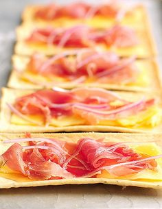 Honey Prosciutto Appetizer are perfect for parties and easy too!