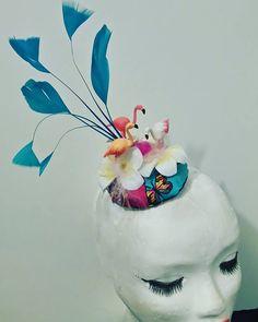 """Bibi ''Flamingo"""" 19€  Retrouvez mes créations sur  www.labulledelise04.com"""