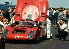 Bridgehampton 1968 Alfa Romeo Horst Kwech.