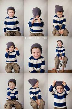idea for 3 year old photos for Levi! Toddler Boy Photography, Children Photography, Family Photography, Indoor Photography, Toddler Photos, Baby Photos, Shooting Photo Studio, Newborn Bebe, Book Infantil