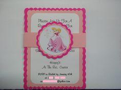 Sleeping Beauty inspired Birthday Invitations, Sleeping Beauty. $10.00, via Etsy.