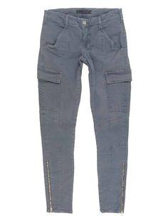 $231 J Brand 1229 Houlihan Japanese Twill Zip Cargo Pants in Vintage Plum - 25 #jbrand #jbrandhoulihan #boutiquedenim