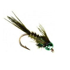 A fly that no serious trout angler should ever be without. - Classic mayfly nymph design. Matching color Nymph-Head® Heavy Metal™ tungsten bead for effective fishing in deeper pools and faster riffles