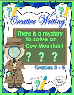 Reading+and+Creative+Writing!+Grade+3-5+from+Kimberly+Sullivan+on+TeachersNotebook.com+-++(28+pages)++-+Fun+mystery+chapter+for+your+students+to+read+and+then+to+write+the+middle+and+end+of+the+story.+Literacy+centers,+early+finishers,+small+group,+homeschool