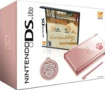 Nintendo DS Lite Metallic Rose with Nintendogs Best Friends (NDS Pink Bundle) // Description Bring a rosy atmosphere to your gaming with the new DS Lite Rose. Along with its metallic pink makeover, this edition of the DS lite also sports a pawprint logo on the lower right hand corner and come bundled with its own copy of Nintendogs to get you started with your new handheld console. // Details // read more >>> http://Early464.tca9.com/detail3.php?a=B000XJNTME