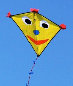 Jak vyrobit draka / How to make own kite - diy http://www.skolnisvet.cz/navod-na-vyrobu-draka/