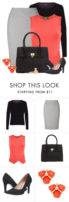 """""""Teacher Attire: Outfit 57"""" by vanessa-bohlmann ❤ liked on Polyvore featuring New Look, John Lewis, Pilot, Franco Sarto and Kate Spade"""