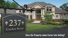 Does the Property name Factor into Selling?