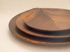 wooden dish by hand