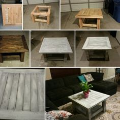 My coffee table made from a pallet! #palletfurniture