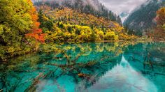 What is Jiuzhaigou, Sichuan, Wanderlust is not enough to describe this location. Travel here to find out for yourself