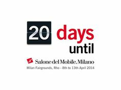 Save the date...see you in #Milano during #Design Week first of all at #SaloneSatellite with Circular Pol XXL!