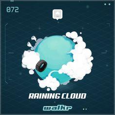 """Look at my beautiful planet """"Raining Cloud""""! http://galaxy.walkrgame.com/9h7ztZpwaBc/64"""