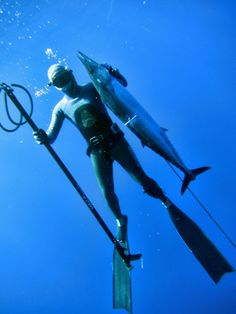 senior spearfisher