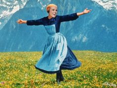 Sound of Music, film, julie andrews, musicals Julie Andrews, Sound Of Music, Music Sing, Music Happy, Lds Movies, Now Quotes, Parenting Memes, Oeuvre D'art, Make Me Smile
