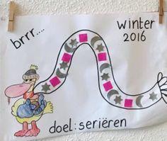 Wintersjaal voor Arie