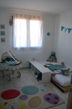 1000 id es sur le th me lit de futon sur pinterest for Chambre montessori 6 ans