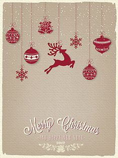 Vintage Christmas Greeting Cards Font plane background material, Christmas, Retro, Christmas Decoration, Background image