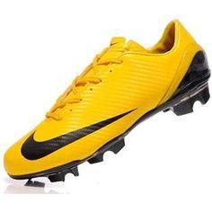 http://www.asneakers4u.com/ 2011 Nike Mercurial SL Yellow / Black Men Soccer CleatsOUT OF STOCK