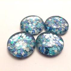 Mermaid-Inspired Magnets, Mermaid Scales, Mermaid Fridge Magnet, Glitter Magnet, Mermaid Gift, Mermaid Decor, Mermaid Dorm Decor
