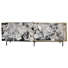 A monumental and unique Cabinet  by Piero Fornasetti.  Globes and celestial themes, magnifique!