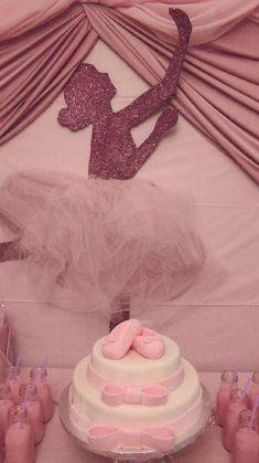 Ballet Birthday Party Ideas - Ballerina Silhouette backdrop