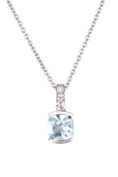 Venta Maty / 17903 / Collares y Colgantes / Oro, Piedras Preciosas y Semipreciosas / Colgante Oro Blanco y Topacios