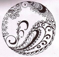 Doodle Zentanlge Inspired by memyni