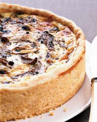 Over-the-Top Mushroom Quiche Recipe from Food & Wine