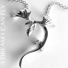 Hey, I found this really awesome Etsy listing at https://www.etsy.com/listing/170957555/dragon-necklace-in-polished-sterling