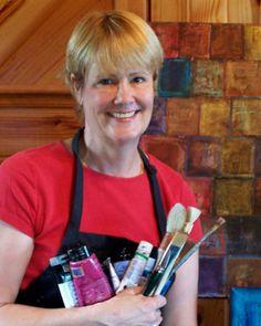 Cathy Taylor's Mixed Media Tutorial:  Citra-Solv Artist Gallery