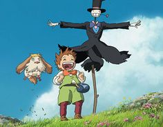 The best characters from Howl's Moving Castle!