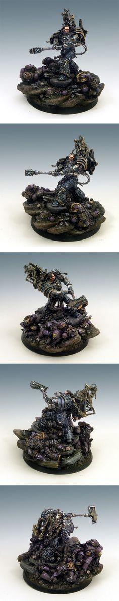 Ferrus Manus - Primarch of the Iron Hands