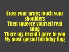 Silly Friend Birthday Poem