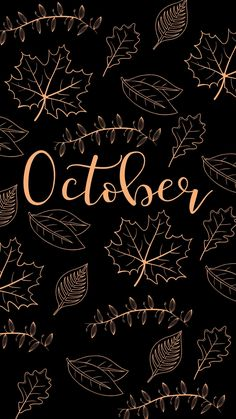 October Wallpaper, Cute Fall Wallpaper, Halloween Wallpaper Iphone, Holiday Wallpaper, Cute Patterns Wallpaper, Halloween Backgrounds, Cute Fall Backgrounds, Cute Backgrounds For Phones, Pumpkin Wallpaper