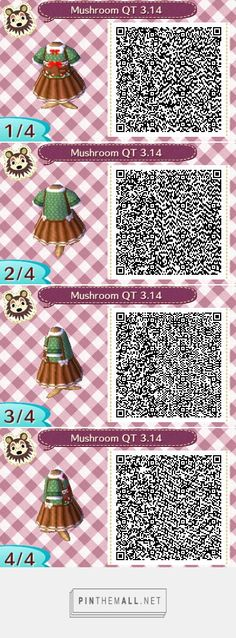 Green and brown mushroom autumn themed overall dress