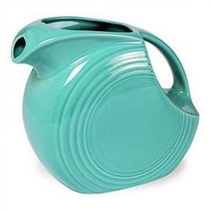 Fiesta 5 Oz Mini Disc Pitcher Color: Turquoise