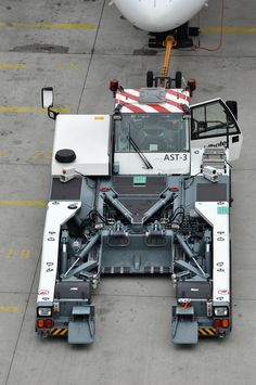 Goldhofer AG 'AST-3' towbarless aircraft tractor