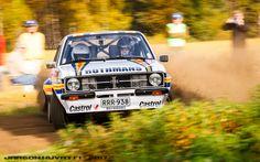 Riihivuori-Rally was last round of Finnish Junior Rally Championship. In historic class Mikko Hirvonen was outing his Escort BDA.