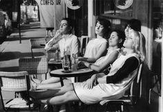 Doisneau. Les coiffeuses au soleil. Paris 1966