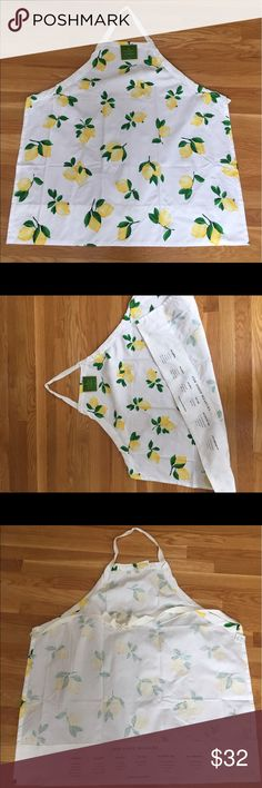 NWT Kate Spade Apron Adorable lemon print Apron, new with tags kate spade Other